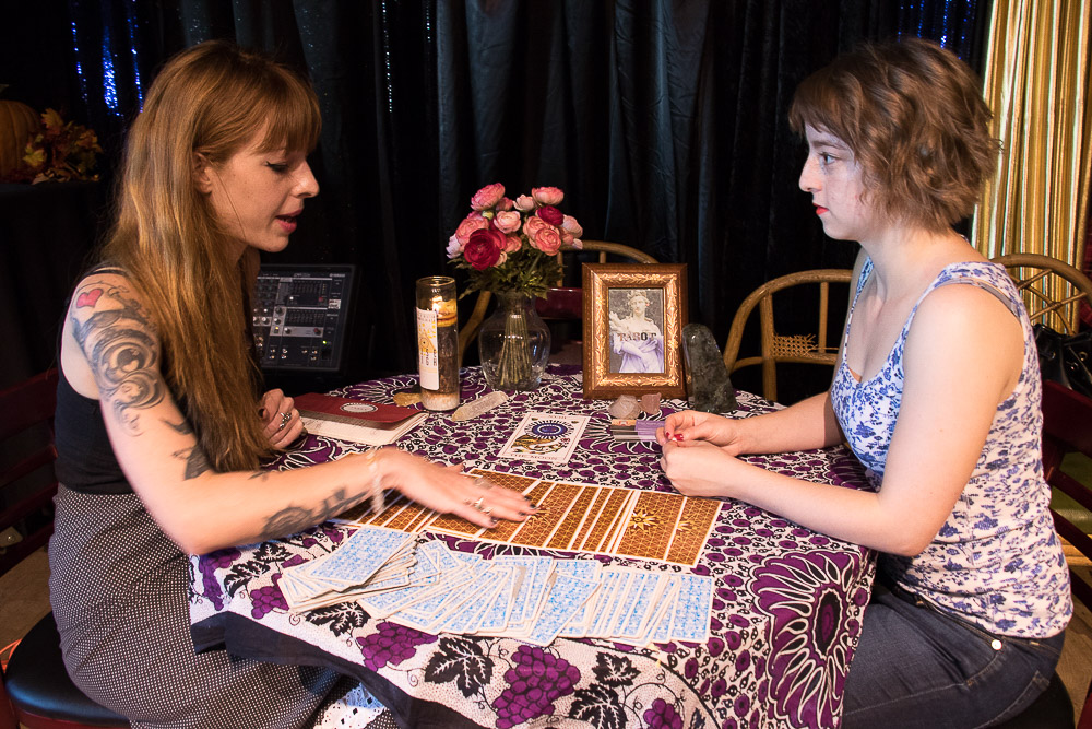 The Witch Collective threw their first craft market in Five Points. (Chloe Aiello/Denverite)