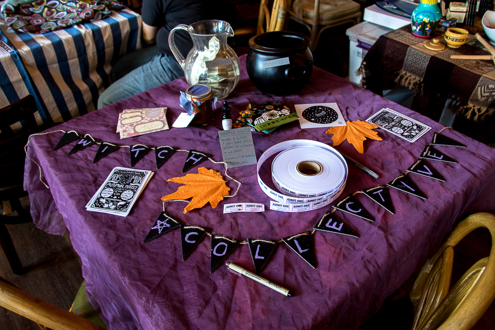 Witch Collective market. (Chloe Aiello/Denverite)