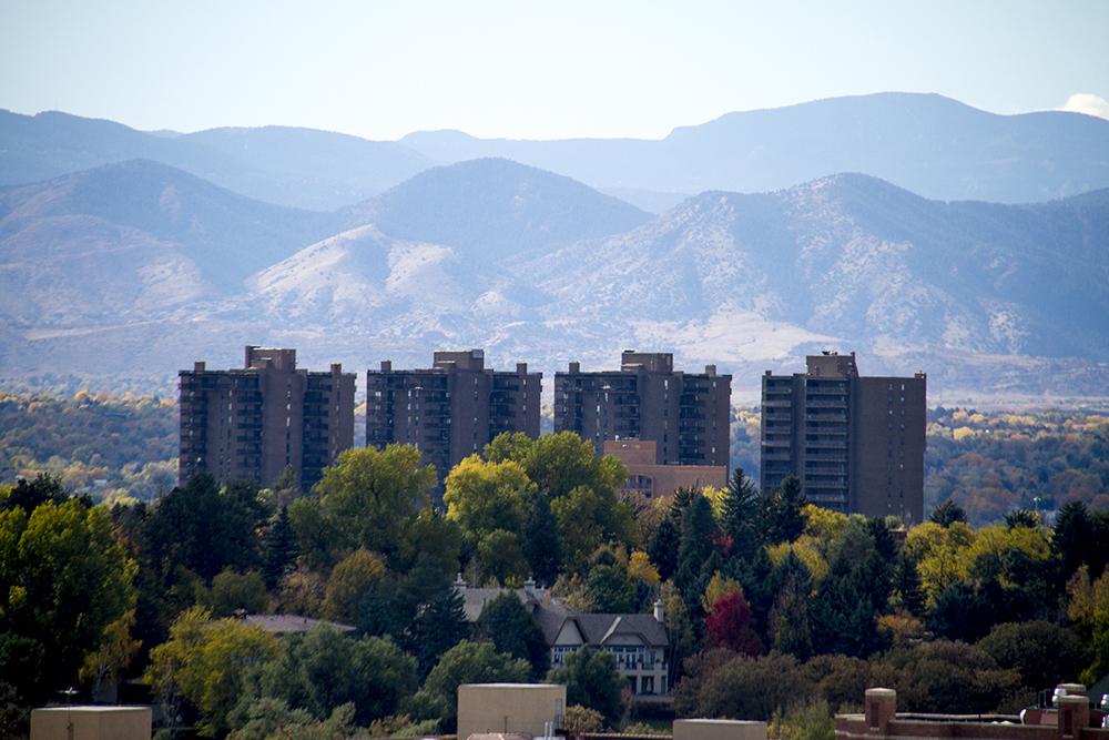 Denver on an autumn day. (Kevin J. Beaty/Denverite)  residential real estate; skyline; cityscape; denver; colorado; weather; cowx; autumn; kevinjbeaty; denverite;
