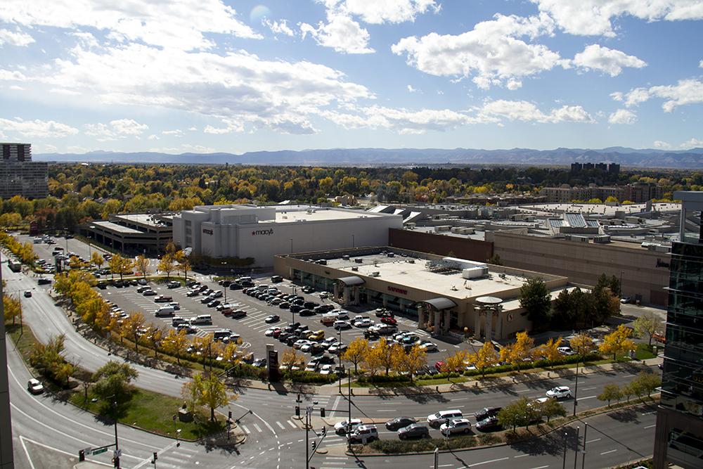 The Cherry Creek Mall. (Kevin J. Beaty/Denverite)  cherry creek mall; autumn; kevinjbeaty; denver; denverite; colorado;