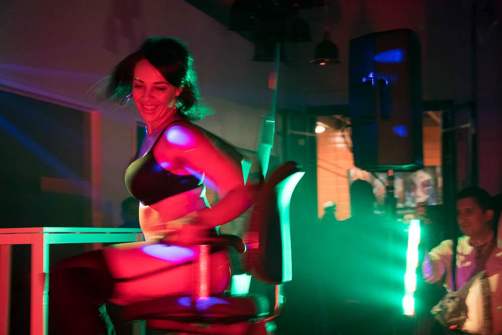 Amirah Counts performs to Rude Boy by Rihanna at Sync It! (Chloe Aiello/Denverite)