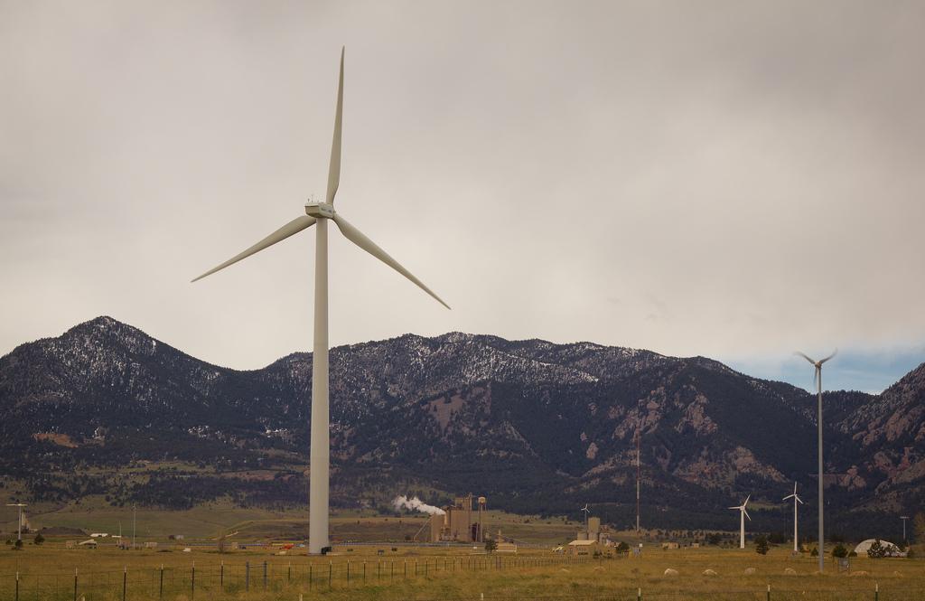 Colorado wind turbines. (Dave Dugdale/Flickr)