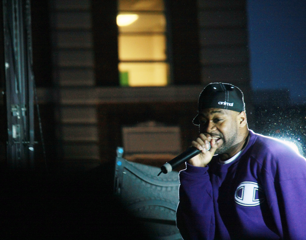 Ghostface Killah performing in 2010. (Andra Mihali/Flickr)