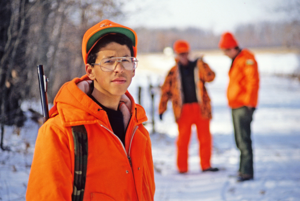 Men hunting in traditional blaze orange safety gear. (Wisconsin Department of Natural Resources/Flickr)