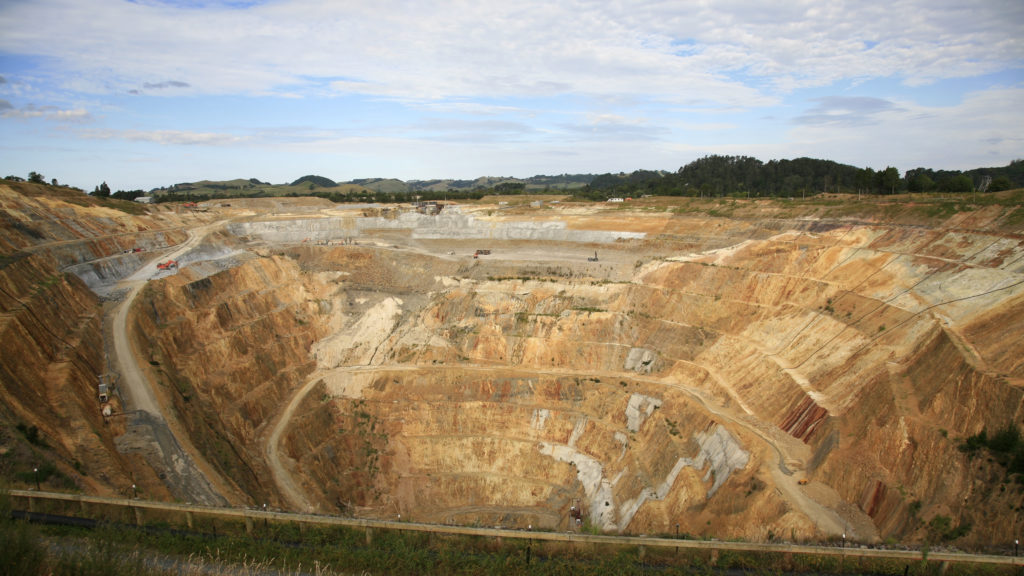 Newmont as mines all over the world, including Martha Mine in New Zealand. (PROVašek Vinklát/Flickr)