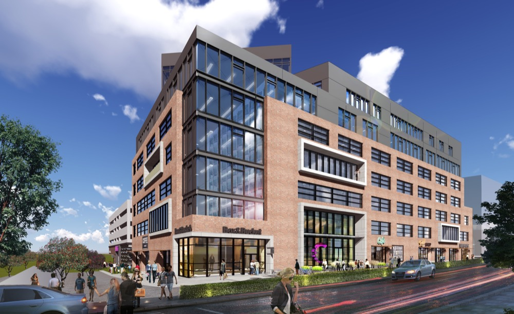 A rendering of the Catalyst Health Tech Innovation building. (Courtesy of Catalyst HTI)