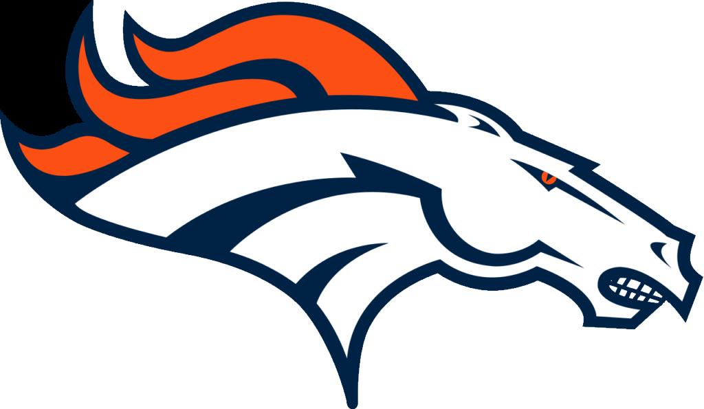 Artistic rendering of the Broncos logo with teeth. Presented under fair-use. Original logo copyright Denver Broncos.