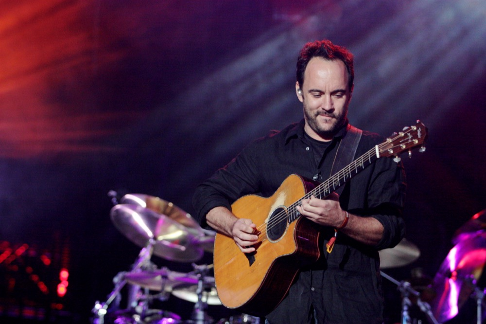 It's me, Dave Matthews, doing politics. (Moses Namkung/Flickr)