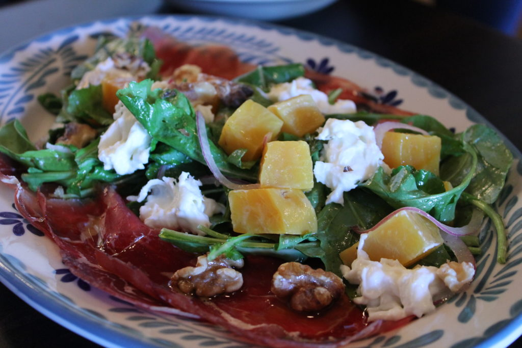 Insalata de lacinato served for lunch at Coperta, 400 E. 20th Ave. (Ashley Dean/Denverite)