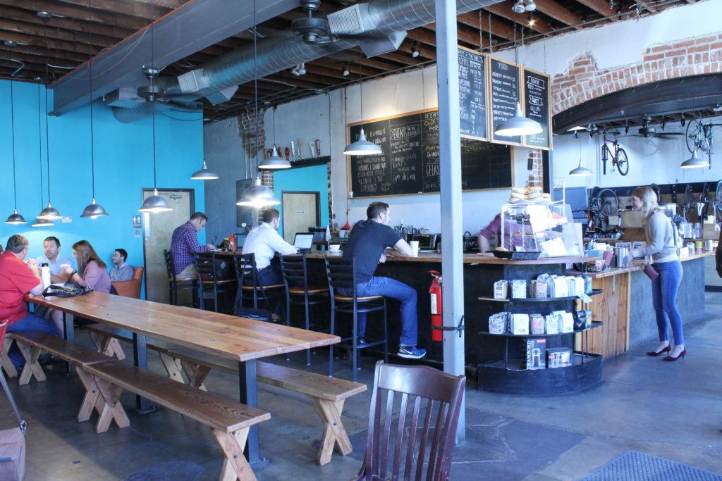 Denver Bicycle Café. (Ashley Dean/Denverite)
