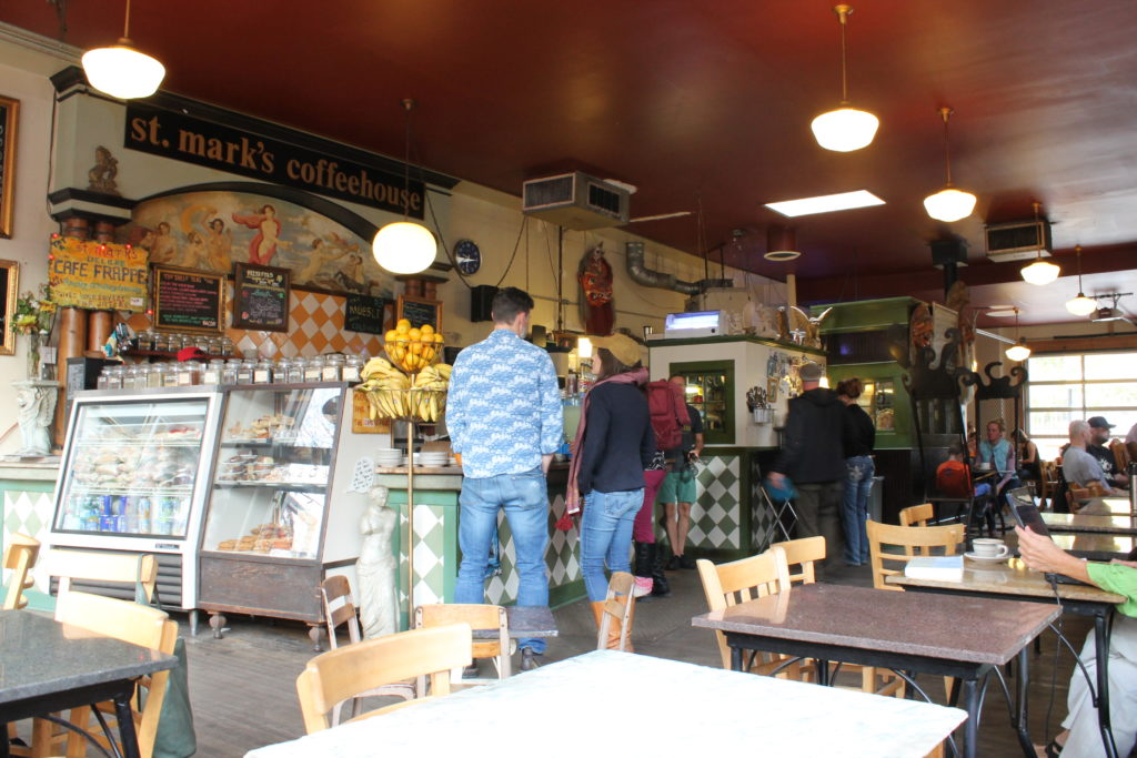 St. Mark's Coffeehouse. (Ashley Dean/Denverite)