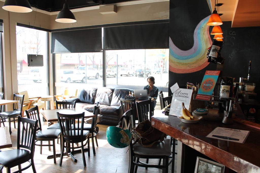 Caffe Sanora. (Ashley Dean/Denverite)