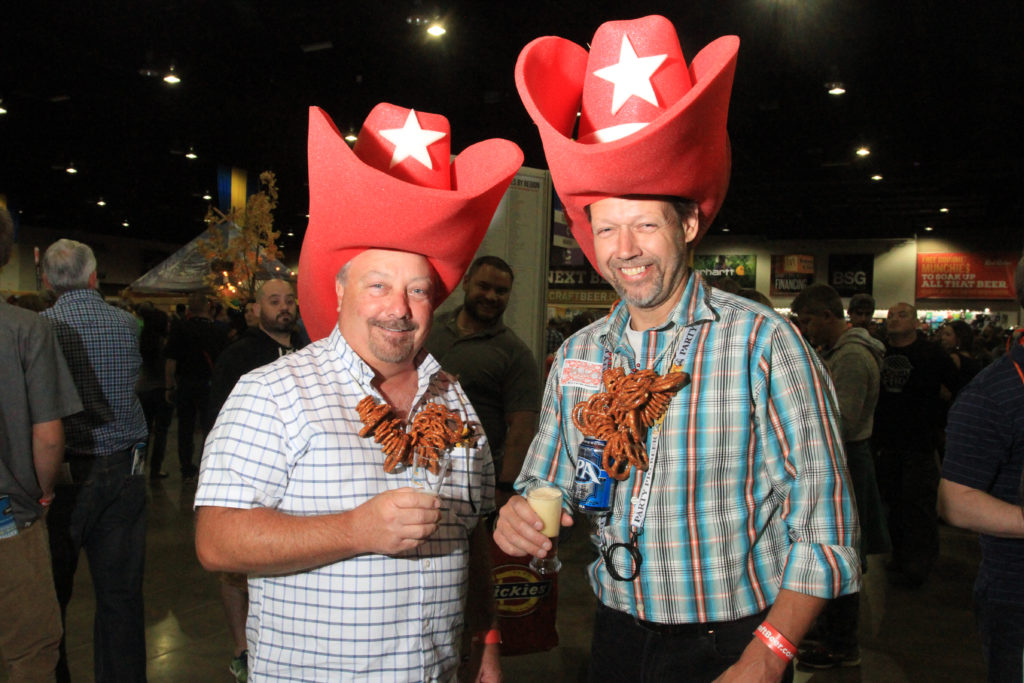 Jeff and Jeff at Great American Beer Festival, Oct. 7, 2016. (Stephanie Snyder/Denverite)