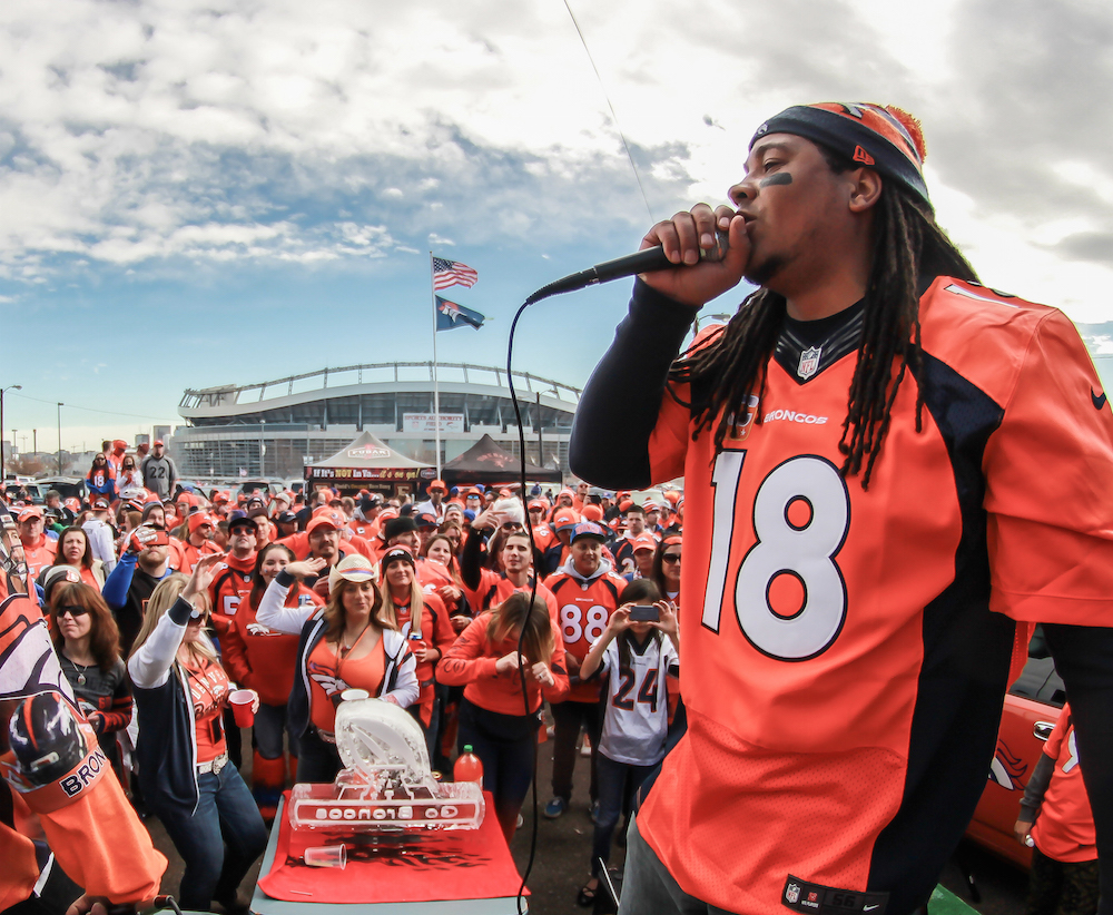 The Mad Fanatic and Bronco Gang. (Courtesy of Andrew Young)