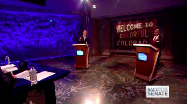 Glenn Bennet 9News debate screenshot