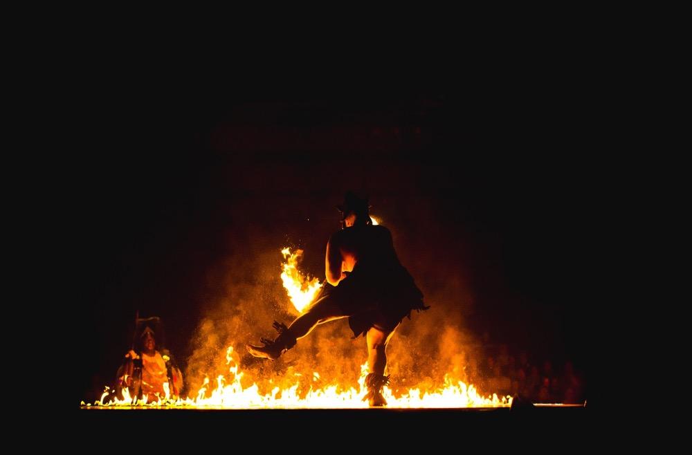 No bonfires. Don't do it, you dancing fools. (Pixabay)