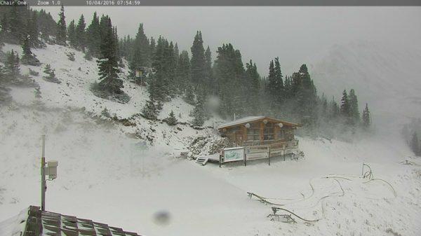 Loveland Ski Area on Oct. 4. (Courtesy Loveland Ski Area)