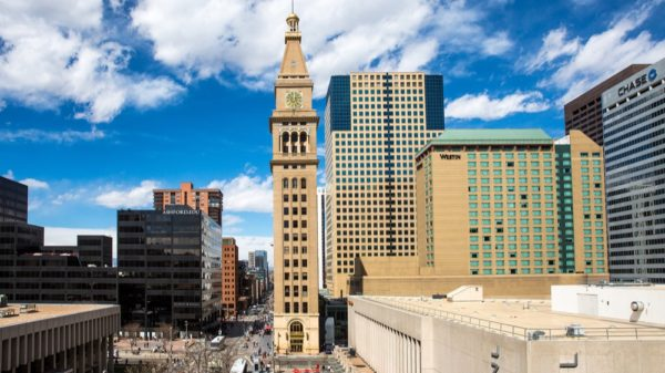 LFC Marketing Services will Sell the Top Five Floors of Denver's Clock Tower. (Photo: Business Wire)