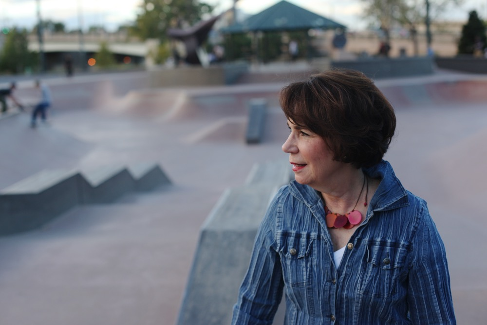 Former councilwoman Joyce Foster played a key role in creating the Denver Skate Park. (Andrew Kenney/Denverite)