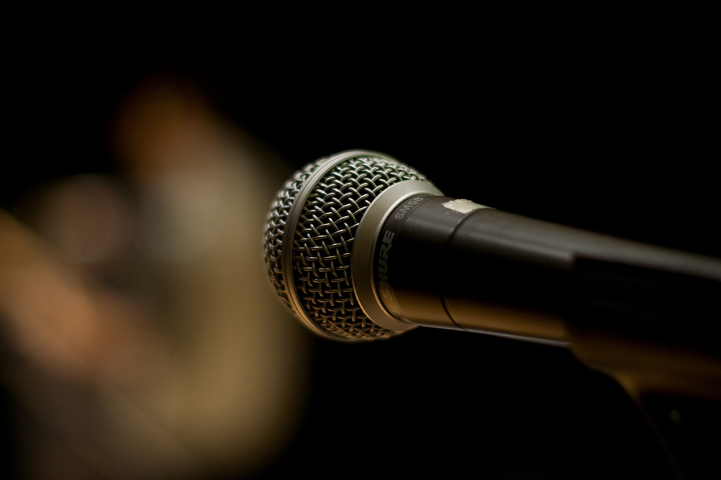 Microphone (Alex Indigo/Flickr)