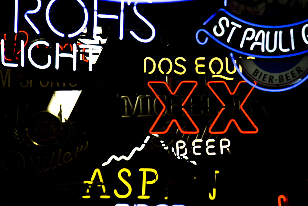 Neon Lights inside Morry's Neon. (Kevin J. Beaty/Denverite)  neon; denver; colorado; kevinjbeaty; denverite
