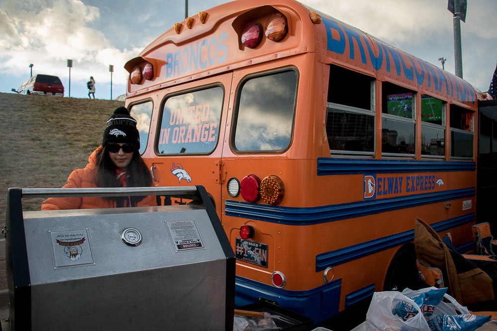 The good, the wild and the devoted of Sunday's Broncos tailgate. (Chloe Aiello/Denverite)