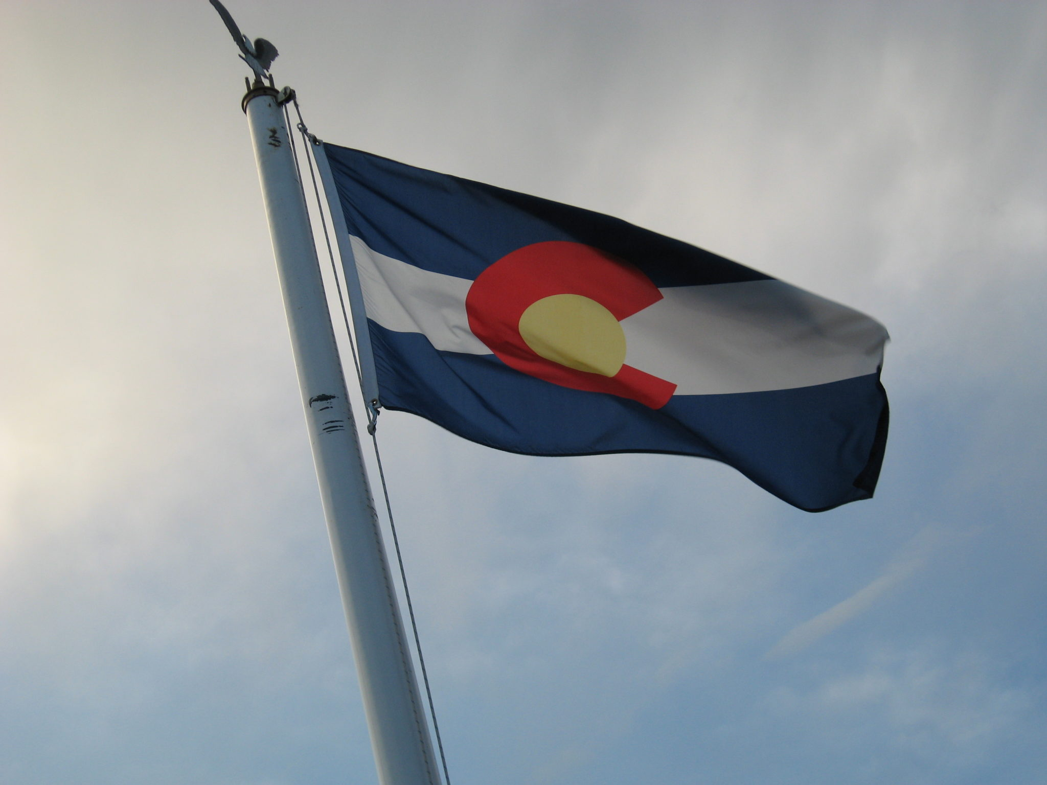 Colorado flag. (Kimberly Vardeman/Flickr)