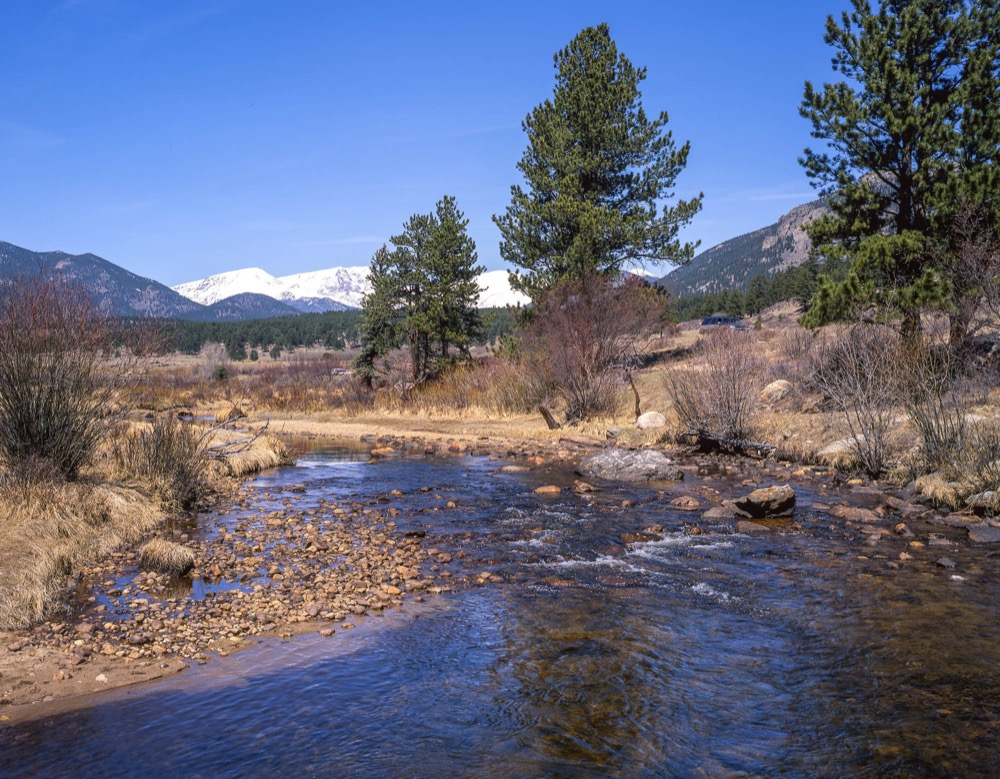 Moraine Park in Rocky Mountain National Park in 1998. (Courtesy John Fielder)