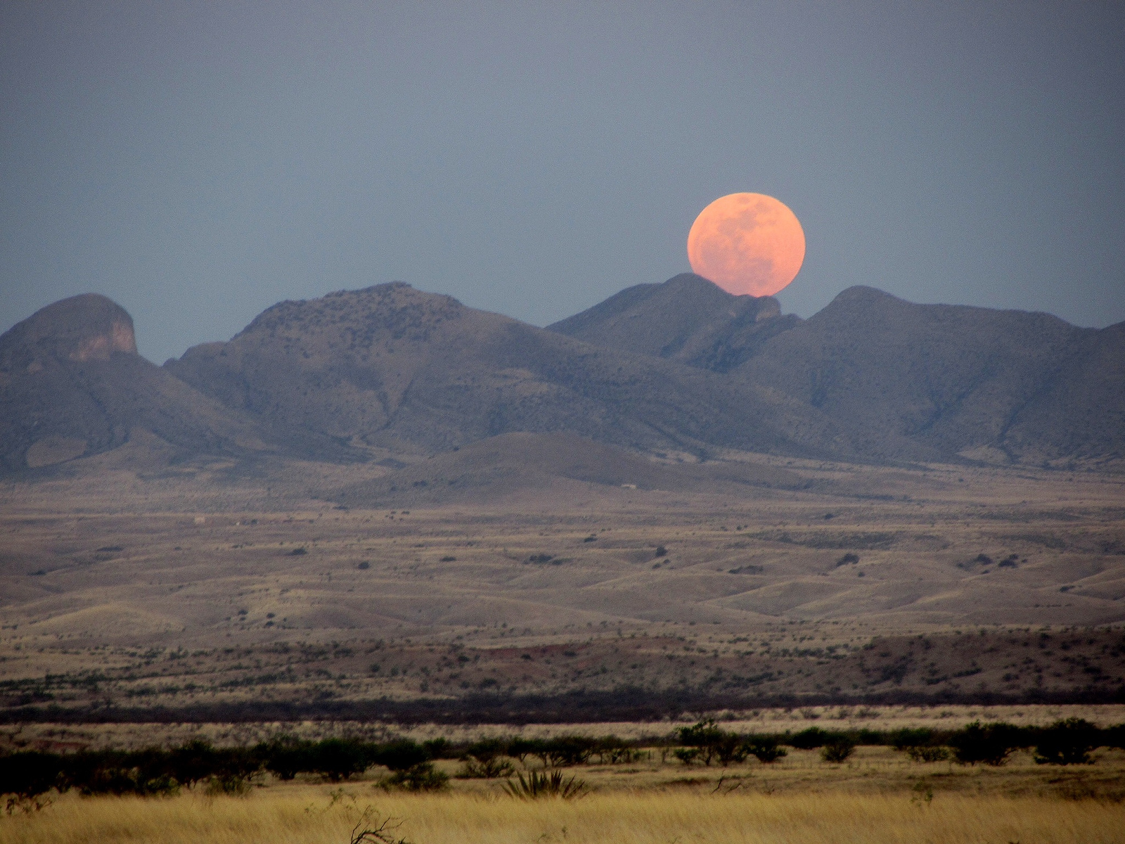 A supermoon over Arizona in 2012, inferior in every way to the supermoon happening Nov. 13, 2016. (Ken Bosma/Flickr)