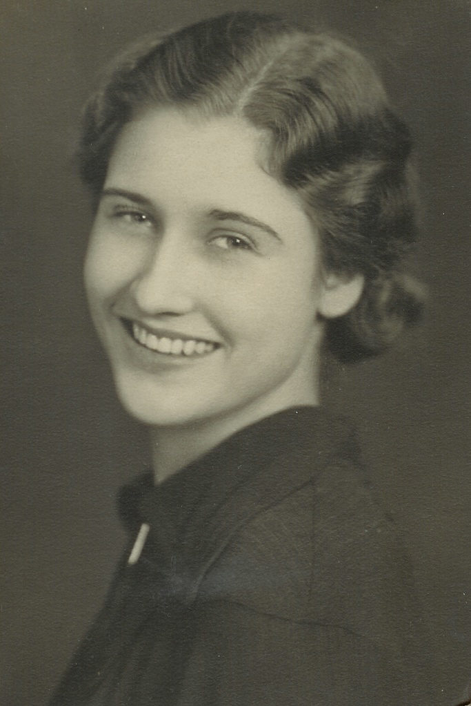 Ruth Bronson in 1941. (Courtesy of Brenda Bronson)
