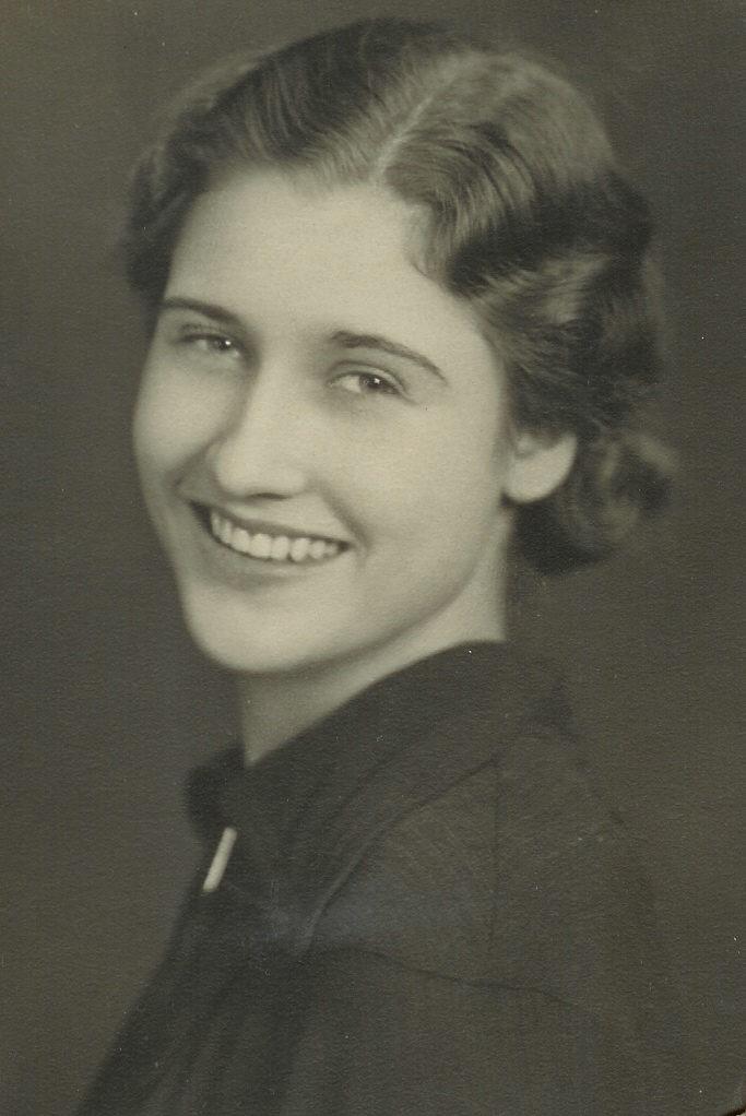 Ruth Bronson in 1941. (Courtesy of Brenda Bronson)