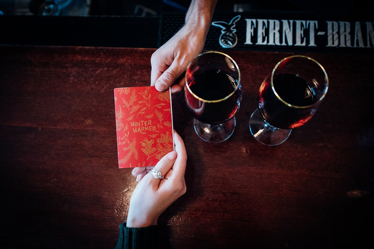 The Winter Warmer Passport. (Courtesy of  Alexandra Weissner)