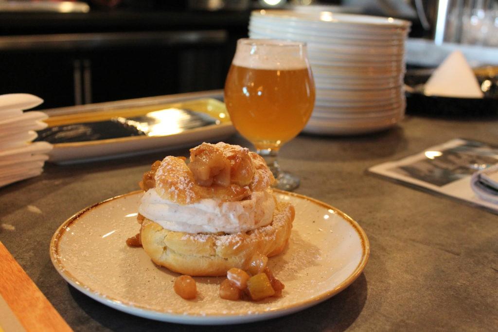Cream puff at Fish N Beer, 3510 Larimer St. (Ashley Dean/Denverite)
