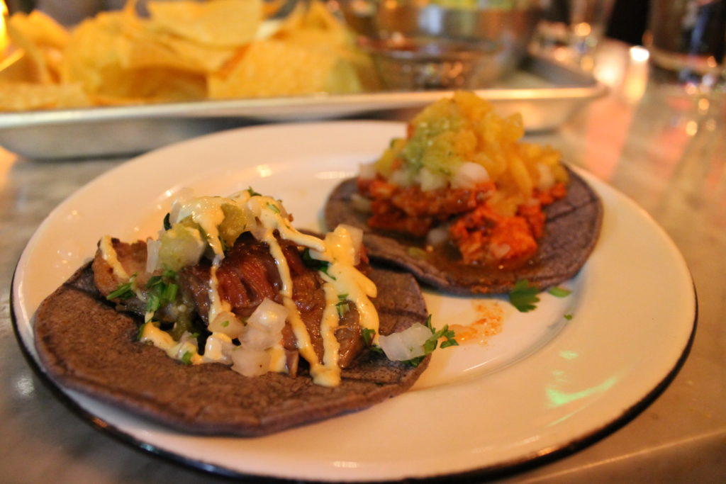 Carnitas taco at La Güera, 1610 Little Raven St., #200. (Ashley Dean/Denverite)