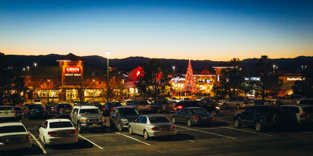 The Outlets at Castle Rock. (Courtesy of The Outlets at Castle Rock)