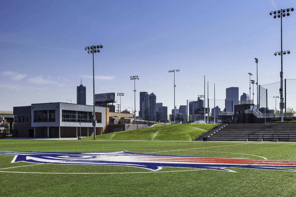 """The Regency Athletic Complex won an award in the """"Sustainable Style"""" category of the 2016 Mayor's Design Award. (Denver CPD)"""