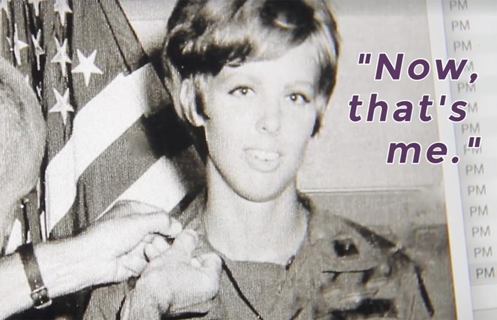 Patti Ehline during her stint in Vietnam. (Kevin J. Beaty/Denverite)
