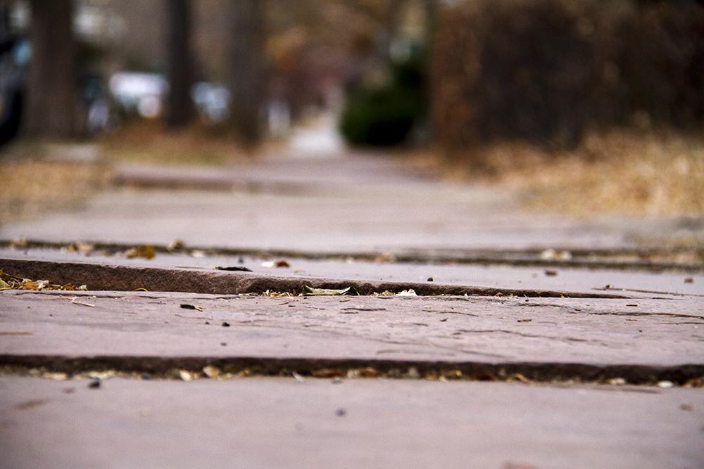 Sidewalks in Capitol Hill. (Kevin J. Beaty/Denverite)  sidewalks; capitol hill; kevinjbeaty; denver; denverite; colorado;