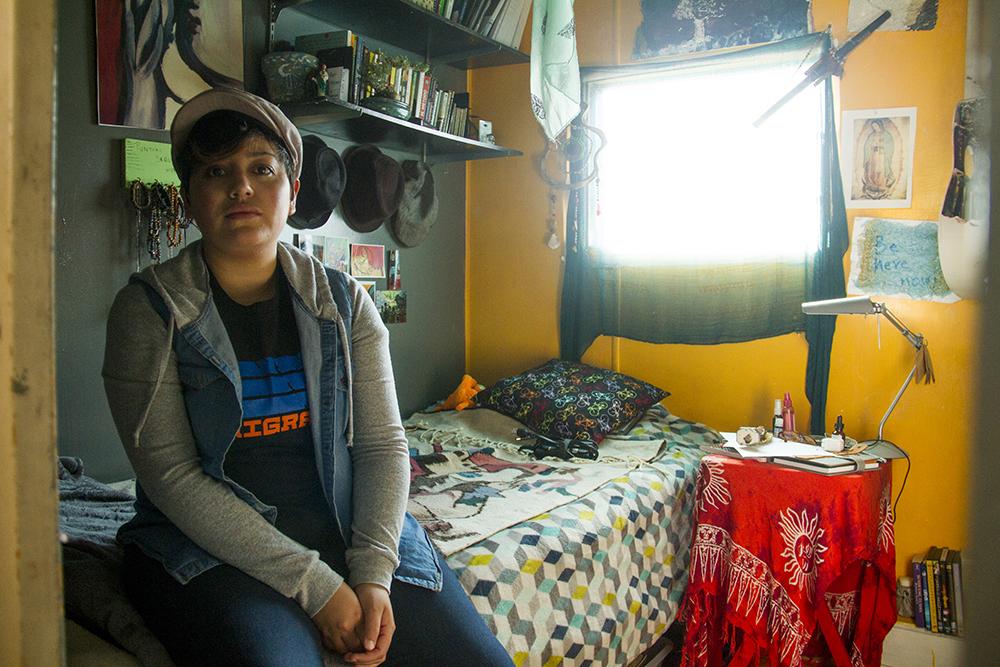 Portrait of Bianca Acosta. Dec. 14, 2016. (Kevin J. Beaty/Denverite)  daca; immigration; undocumented; kevinjbeaty; denver; colorado; denverite;