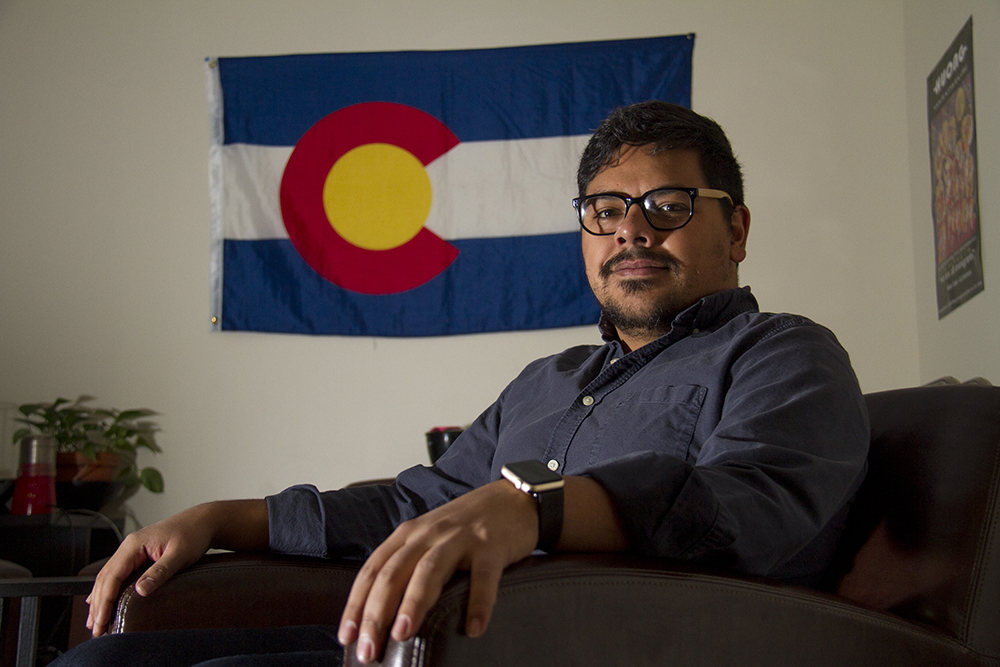 Juan Gallegos. (Kevin J. Beaty/Denverite)  immigration; daca; undocumented; denver; denverite; colorado; kevinjbeaty;
