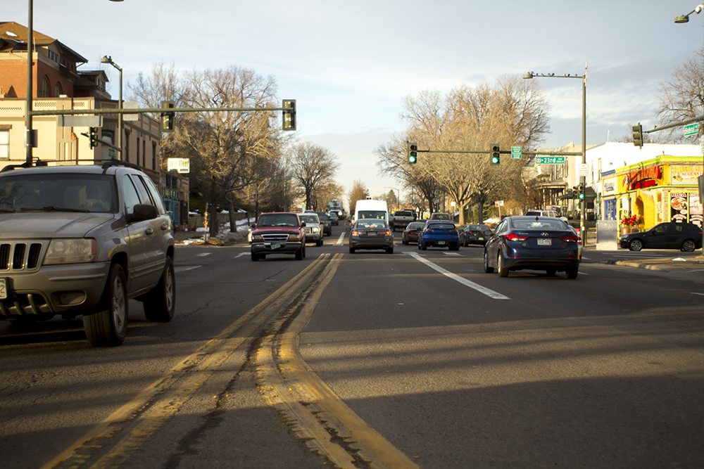 Federal Boulevard at 23rd Avenue. (Kevin J. Beaty/Denverite)  federal boulevard; development; planning; bid; kevinjbeaty; denver; denverite; colorado;