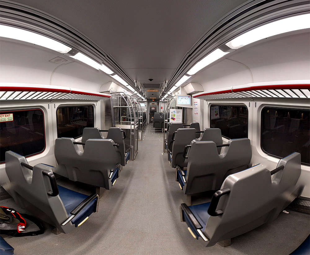 The University of Colorado A Line. (Kevin J. Beaty/Denverite)  a line; train; rtd; transit; transportation; kevinjbeaty; denver; denverite; colorado;