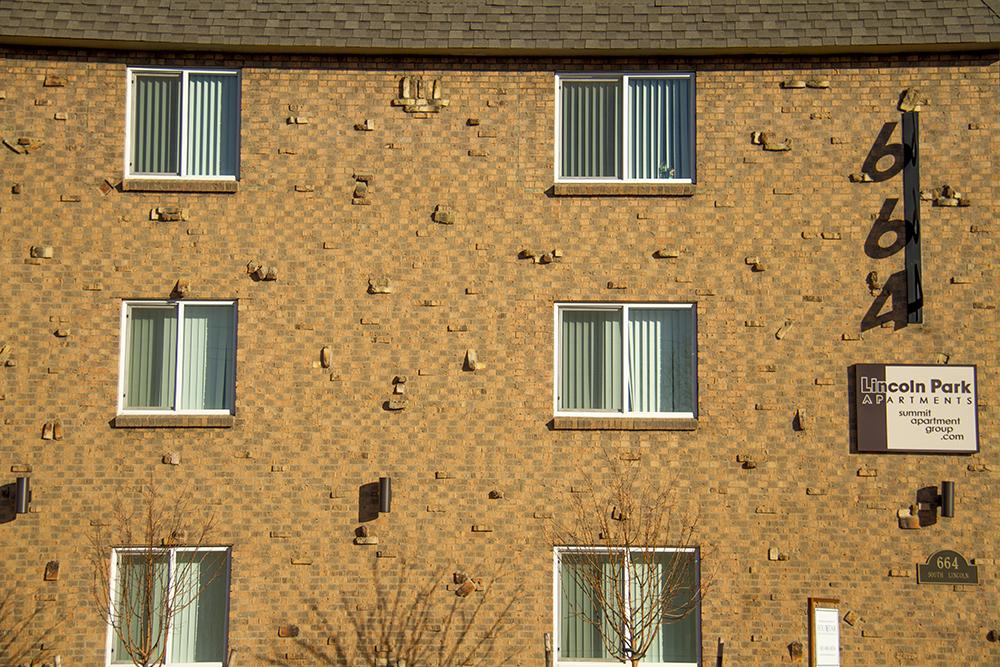 664 Lincoln Street. (Kevin J. Beaty/Denverite)  residential real estate; denver; denverite; colorado; winter; kevinjbeaty;