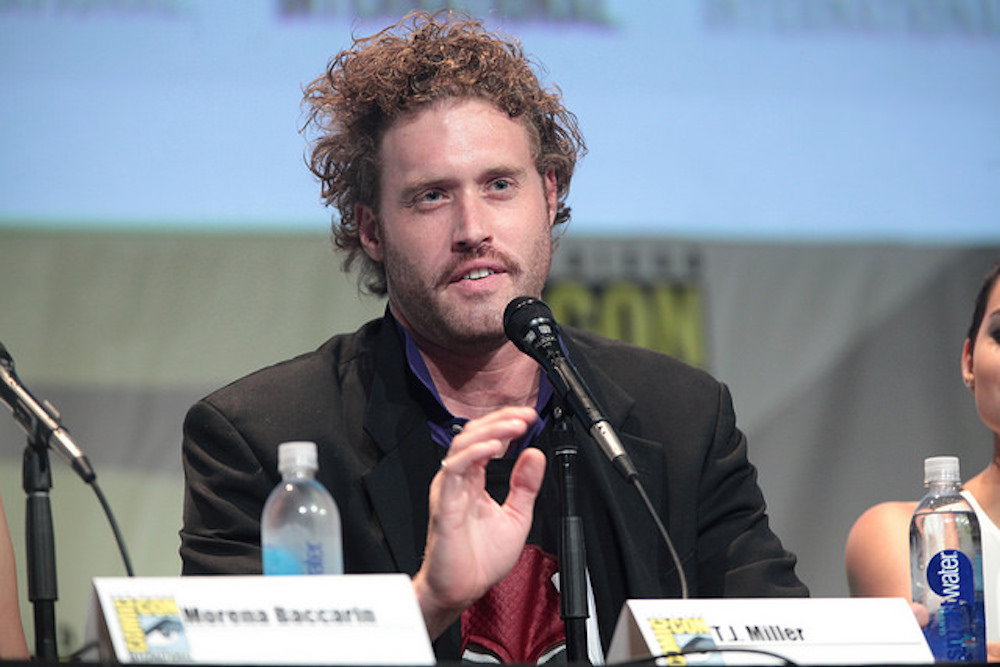 T.J. Miller was arrested early Friday morning. He allegedly got into an altercation with his driver. (Gage Skidmore/Flickr)