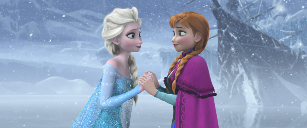"""A scene from the film """"Frozen."""" The live show will come through Denver in 2017. (Courtesy Denver Center for the Performing Arts)"""