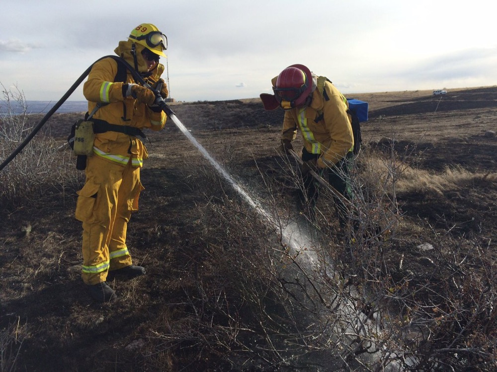 Cleaning up the Green Mountain Fire. (West Metro Fire Rescue)