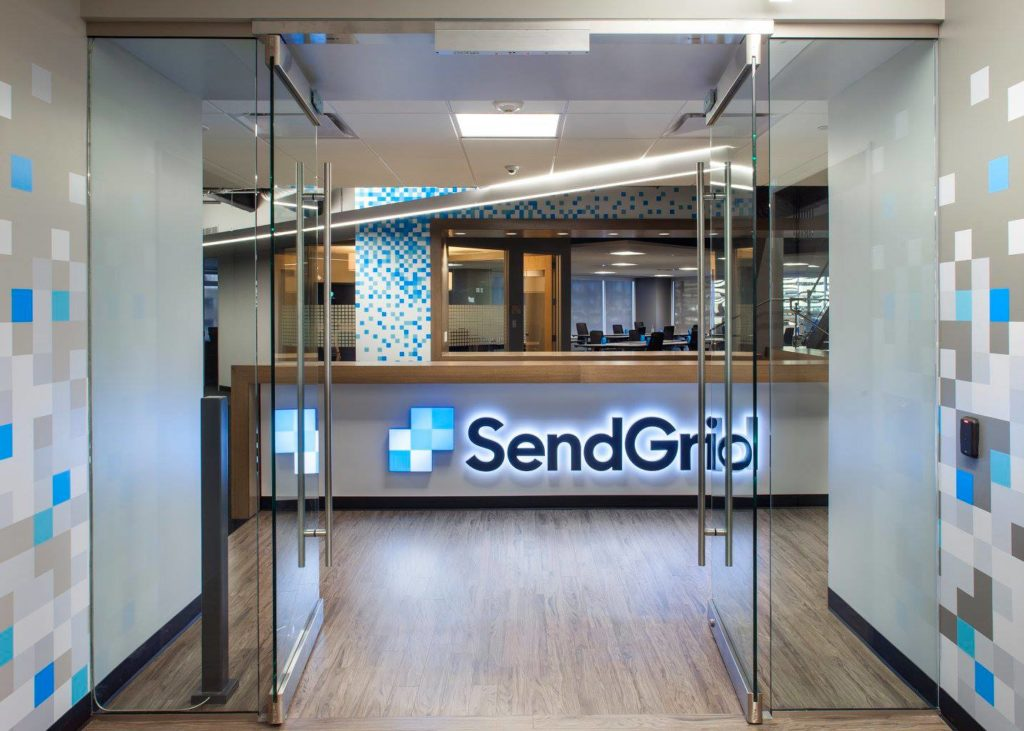 SendGrid's new Denver office space. (Courtesy of SendGrid)