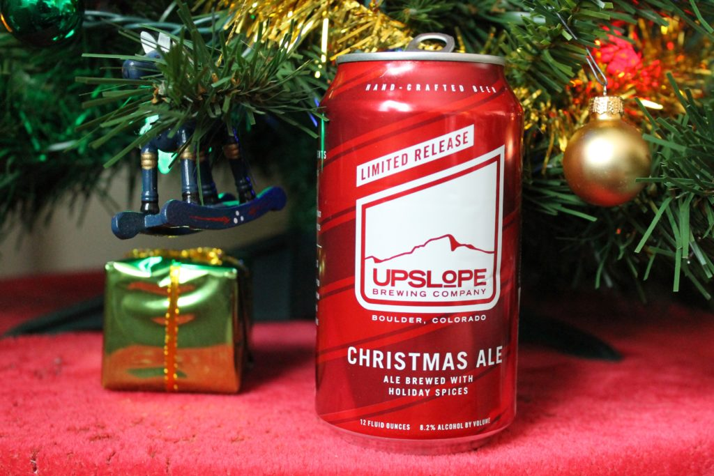 Upslope's Christmas Ale. (Ashley Dean/Denverite)