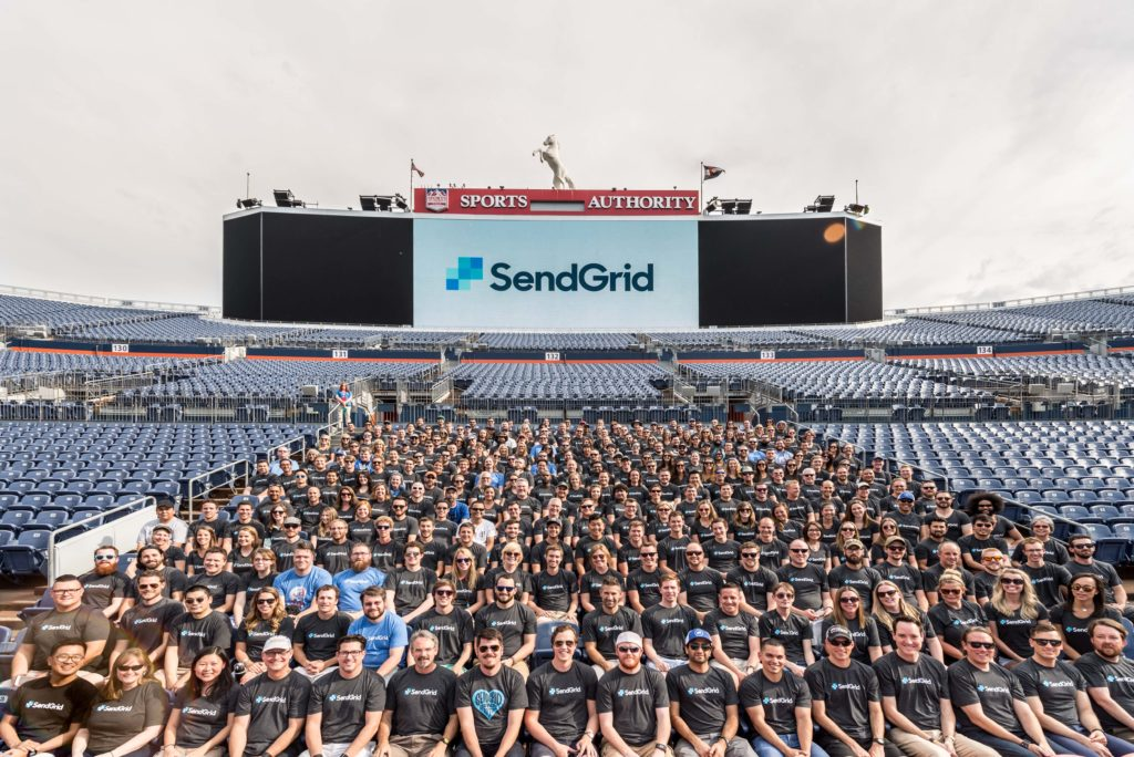 SendGrid staff. (Courtesy of SendGrid)