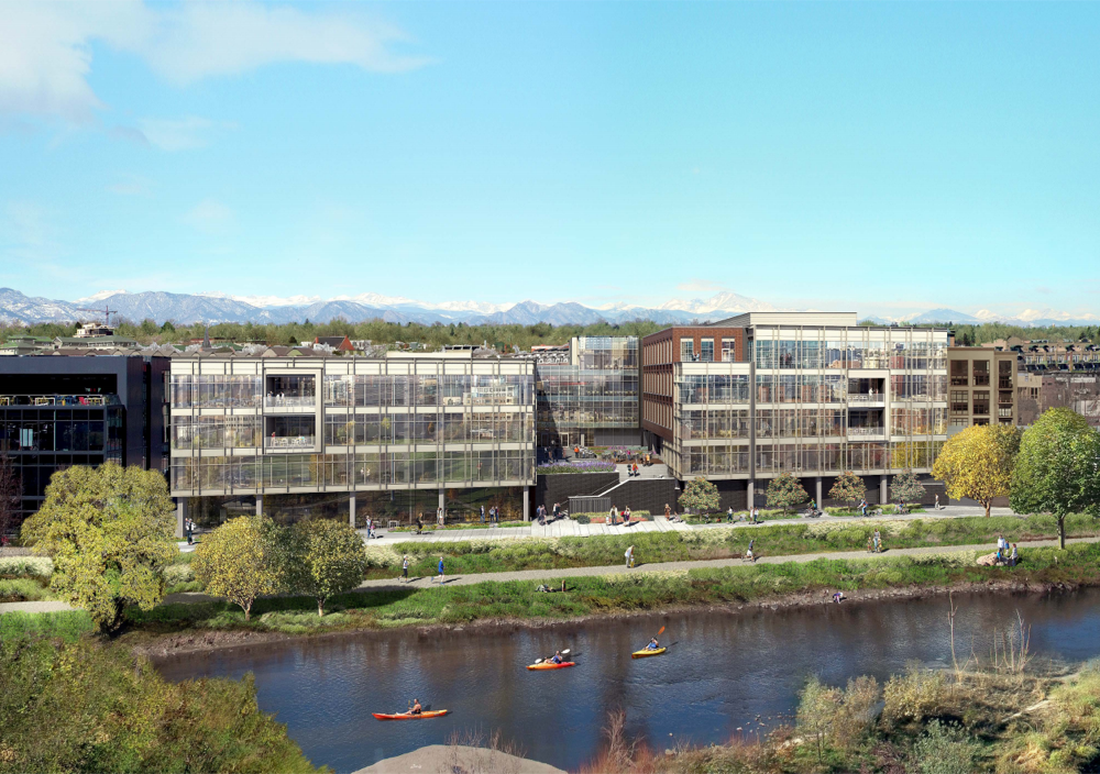 A rendering of Lower 48's office near downtown Denver. (Courtesy of BP)